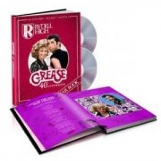 Grease - 40Th Anniversary Edition - Inkl. Årsbog - Blu-Ray