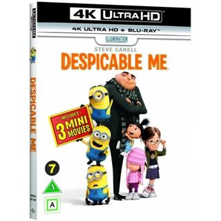 Despicable Me/Grusomme Mig - 4K Ultra HD Blu-Ray