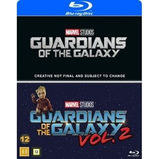 Guardians Of The Galaxy 1-2 Blu-Ray