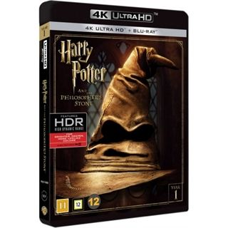Harry Potter & De Vise Sten - 4K Ultra HD Blu-Ray