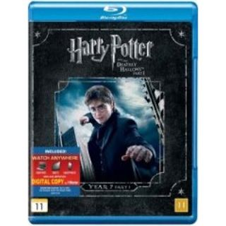 Harry Potter Og Dødsregalierne - Del 1 Blu-Ray