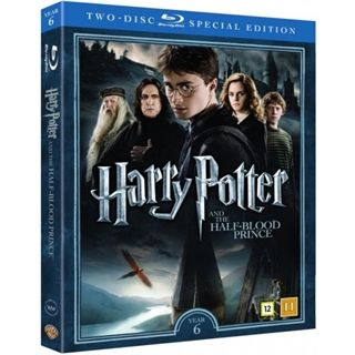 HARRY POTTER 6 OG HALVBLODSPRINSEN + DOKUMENTAR BD