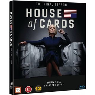 House Of Cards - Season 6 Blu-Ray
