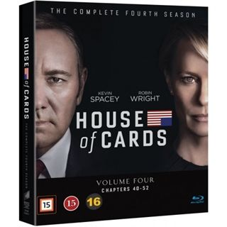 House Of Cards - Season 4 Blu-Ray