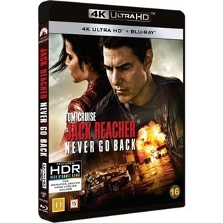 Jack Reacher - Never Go Back - 4K Ultra HD Blu-Ray