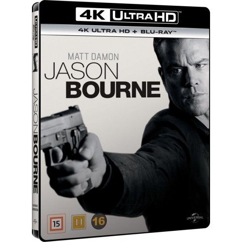 Jason Bourne 5 - 4K - Ultra HD Blu-Ray