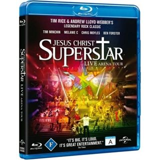 JESUS CHRIST SUPERSTAR - LIVE Blu-Ray
