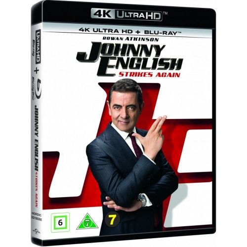 Johnny English - Strikes Again - 4K Ultra HD Blu-Ray