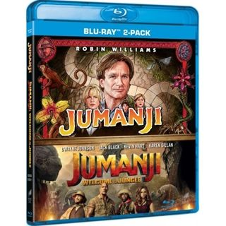 Jumanji 1-2 Blu-Ray Box