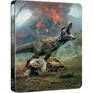 Jurassic World 2 - Fallen Kingdom - Steelbook Blu-Ray