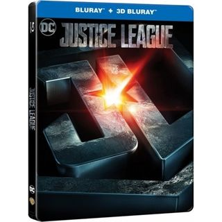 Justice League - The Movie - Steelbook 3D Blu-Ray