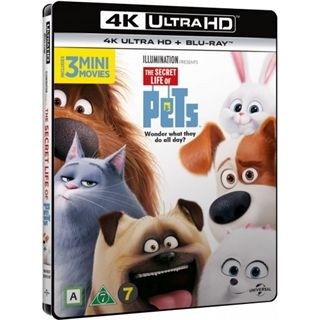 Secret Life Of Pets 4K Ultra HD Blu-Ray