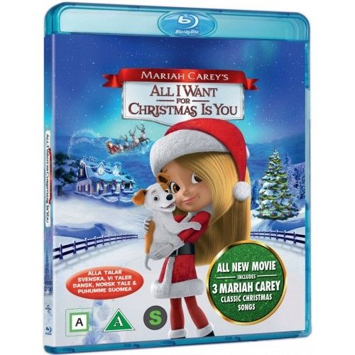 Mariah Carey\'s - All I Want For Christmas Is You Blu-Ray