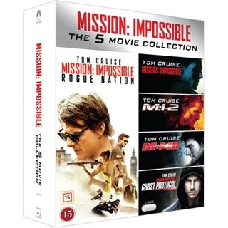 Mission Impossible 1-5 Blu-Ray Box