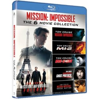 Mission Impossible 1-6 - Blu-Ray Box
