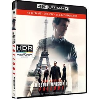 Mission Impossible 6 - Fallout - 4K Ultra HD Blu-Ray