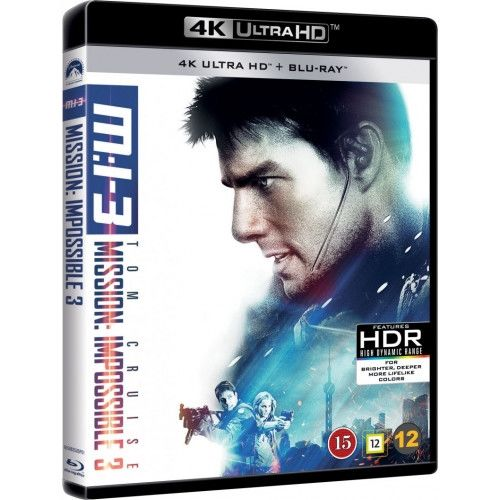 Mission Impossible 3 - 4K Ultra HD Blu-Ray