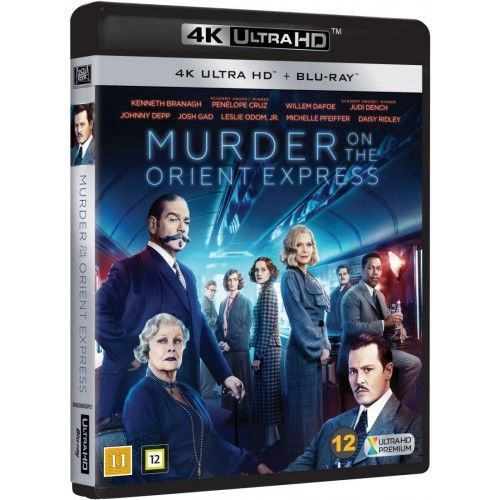 Murder On The Orient Express - 4K Ultra HD Blu-Ray