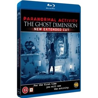 Paranormal Activity - Ghost Dimension Blu-Ray