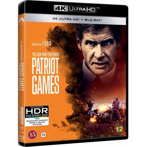 Patriot Games - 4K Ultra HD Blu-Ray