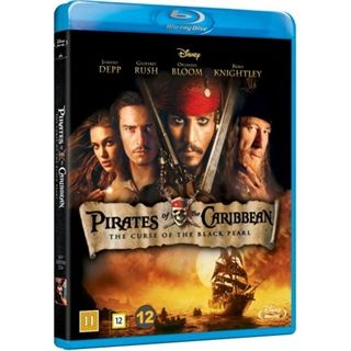 Pirates Of The Caribbean - The Curse Of The Black Pearl Blu-Ray
