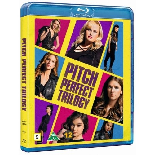 Pitch Perfect 1-3  Blu-Ray Box