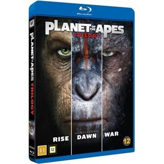 Planet Of The Apes 1-3 Blu-Ray