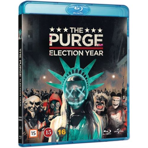 The Purge 3 - Election Year Blu-Ray