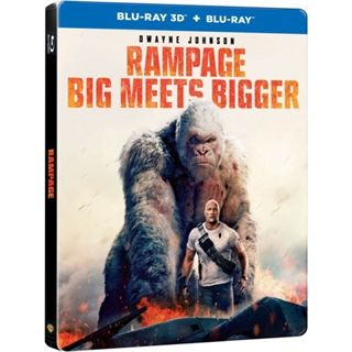 Rampage - Big Meets Bigger - 3D Steelbook Blu-Ray
