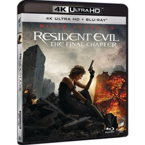 Resident evil final chapter 4k ultra hd blu ray - Resident evil final chapter 4k ...