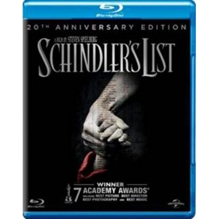 Schindlers List Blu-Ray - 20Th Annivesary Edition