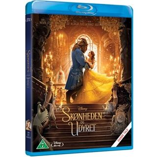 Skønheden Og Udyret - 2017 - Beauty And The Beast Blu-Ray
