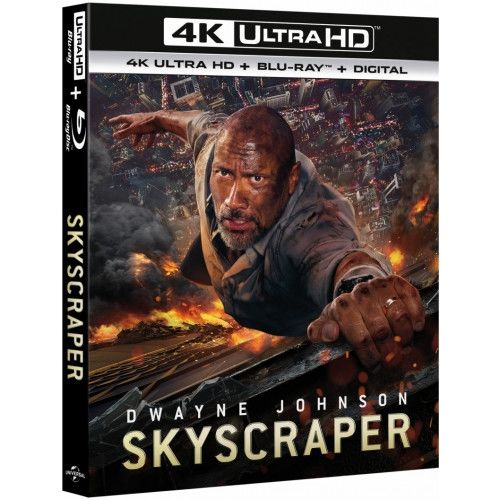 Skyscraper - 4K Ultra HD Blu-Ray