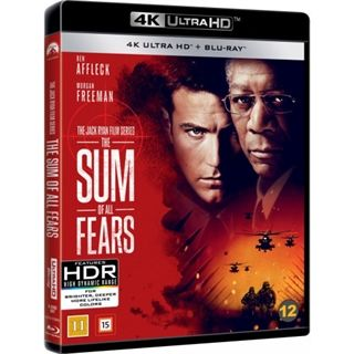 Sum Of All Fears - 4K Utra HD Blu-Ray