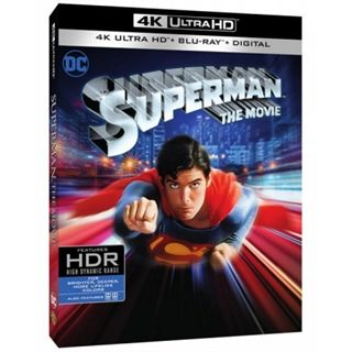Superman - 1978 - The Movie - 4K Ultra HD
