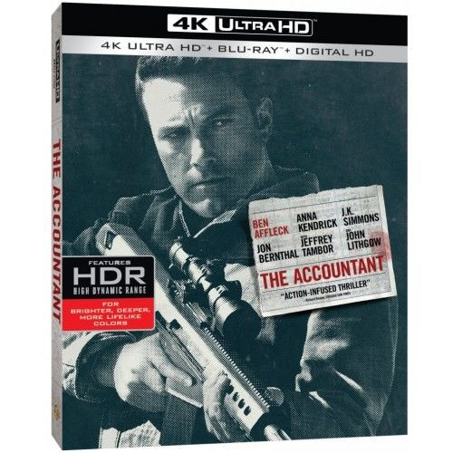 The Accountant - 4K Ultra HD Blu-Ray