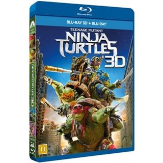 Teenage Mutant Ninja Turtles - Out Of The Shadows 3D Blu-Ray