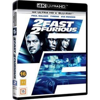 2 Fast 2 Furious - 4K Ultra HD Blu-Ray