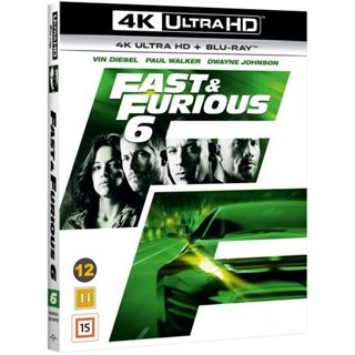 The Fast & The Furious 6 - 4K Ultra HD Blu-Ray