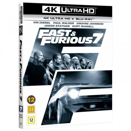 The Fast & The Furious 7 -  4K Ultra HD Blu-Ray