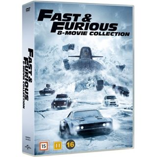 The Fast & The Furious 1-8