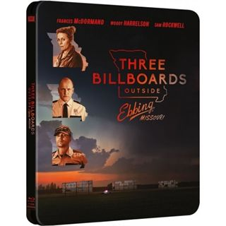 Three Billboards Outside Ebbing Missouri - Steelbook Blu-Ray