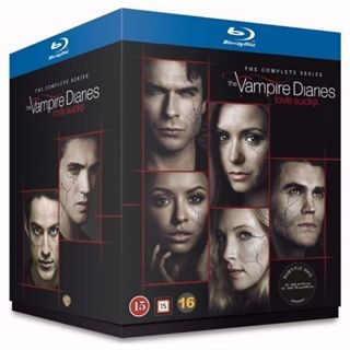 Vampire Diaries - Season 1-8 Blu-Ray