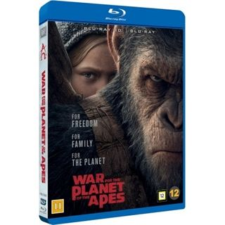 War For The Planet Of The Apes - 3D Blu-Ray