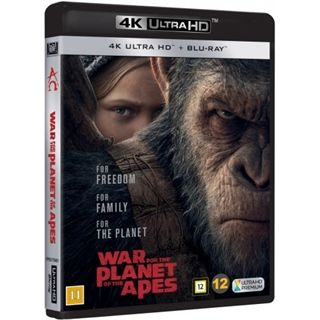 War For The Planet Of The Apes - 4K Ultra HD Blu-Ray