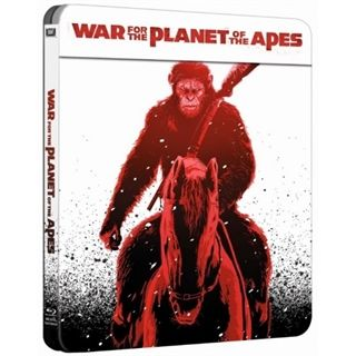 War For The Planet Of The Apes - Steelbook Edition - Blu-Ray