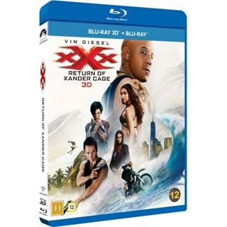 xXx - The Return Of Xander Cage - 3D Blu-Ray
