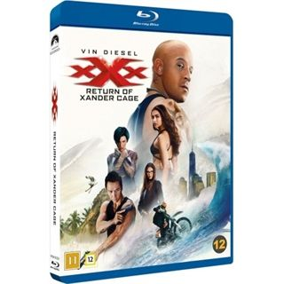 xXx - The Return Of Xander Cage Blu-Ray