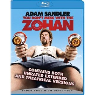 You Don't Mess With The Zohan Blu-Ray