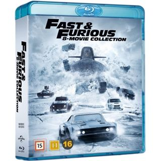 The Fast & The Furious 1-8 Blu-Ray